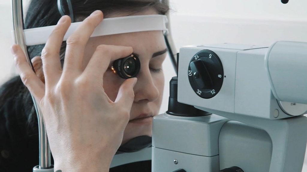 Лечение глаз лазером