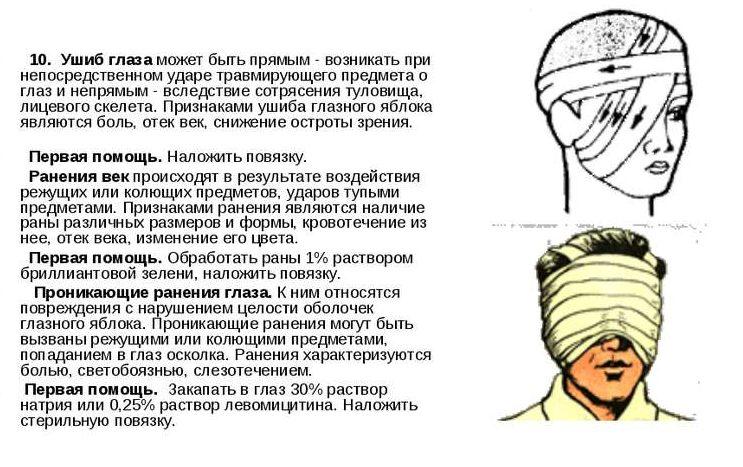ushib glaza pervaya pomocsh e1530874219322 - Ударил глаз веткой болит что делать